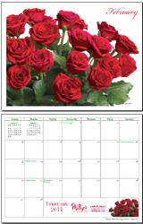 February 2011 Calendar