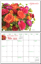 September 2011 Calendar