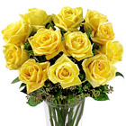 FTD Dozen Yellow Roses Bouquet