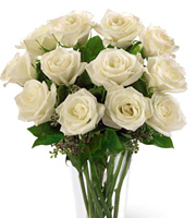 FTD® White Roses Bouquet #4308X