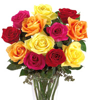 - FTD� Bright Spark Roses Bouquet