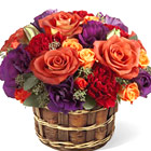 FTD Vibrant Views Flowers Basket (Autumn)
