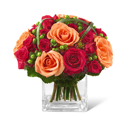 FTD Deep Emotions Rose Bouquet (Autumn)