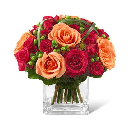 FTD Deep Emotions Rose Bouquet (Autumn)