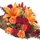 FTD Harvest Home Cornucopia (Autumn)