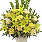 FTD Golden Memories Arrangement (Sympathy)