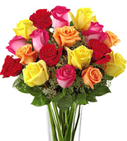 FTD® Bright Spark 18 Roses Bouquet #4809D