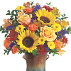 Teleflora� Country Sunflowers Bouquet