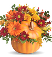 Teleflora® Country Pumpkin Bouquet #9H140