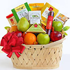 Fruitful Greetings Gourmet Basket (Better)