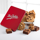 Mrs. Fields Classic Tin with Brownies and Cookies