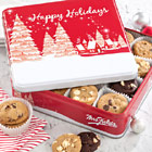 Mrs. Fields� Holiday Cookie Tin