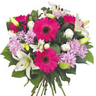 International - Pink, Lavender and White Bouquet
