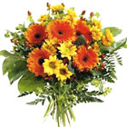 International - Orange and Yellow Mixed Bouquet