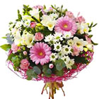 International - Pink and White Mixed Bouquet