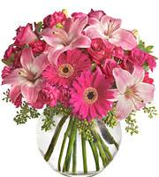 A Little Pink Me Up Bouquet #T0103
