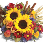 Classic Cornucopia Centerpiece (Autumn)
