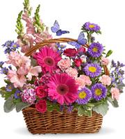 Basket of Blooms Deluxe #T483B