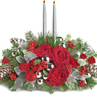 Joyous Glow Holiday Centerpiece
