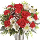 Teleflora� Timeless Cheer Bouuet