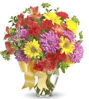 Color Me Yours Flowers Bouquet #TV317