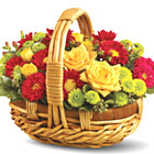 Autumn Hamper Basket
