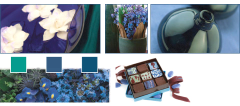 Flowers Trends - Moody Blue Infusion