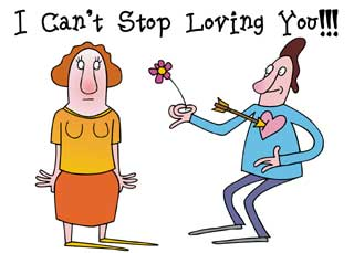 Can't stop loving you Virtual Ecard