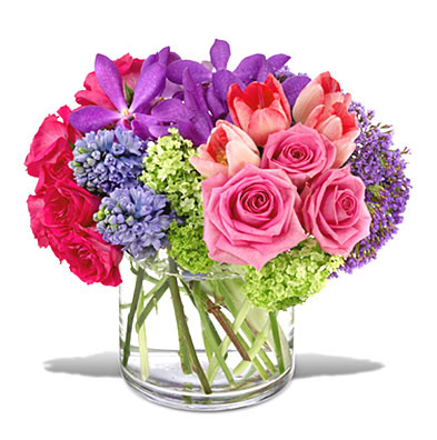 Welcome Oasis Flower Bouquet
