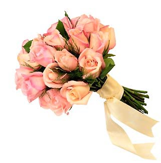 Pink Roses Virtual Flower Bouquet