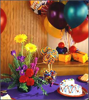 Life's a Party Virtual Birthday Flowers