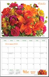 October 2010 Calendar