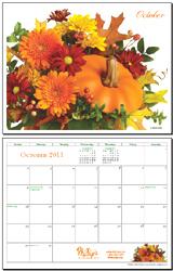 October 2011 Calendar