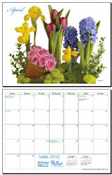 April 2012 Calendar