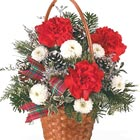 Very Merry Basket Bouquet