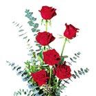 Heart Throb Half Doz. Rose Vase