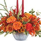 Teleflora� Bountiful Blessings Centerpiece