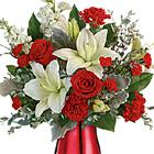Teleflora� Radiantly Rouge Bouquet