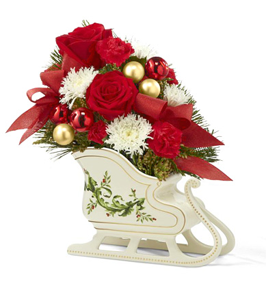 - FTD® Holiday Traditions Bouquet