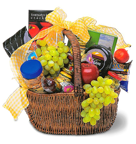 Deluxe Assortment Gift Basket