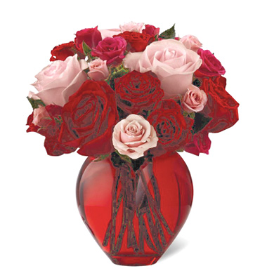Valentine S Day My Heart To Yours Bouquet Deluxe