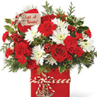 FTD� Holiday Cheer Bouquet Deluxe