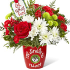 FTD� I'll Jingle To That Bouquet Deluxe