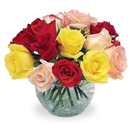 1-800-FLORALS coupon: Garden Rose Bowl