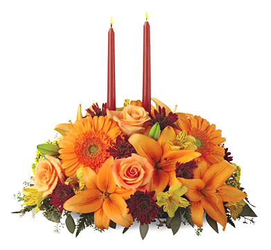 FTD® Bright Autumn Centerpiece