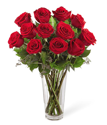 FTD® Dozen Red Roses Bouquet