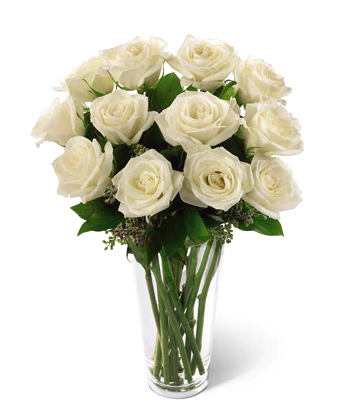 FTD� White Roses Bouquet