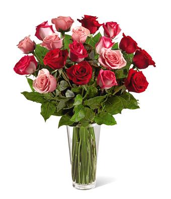 1-800-FLORALS coupon: FTD® True Romance 18 Roses Bouquet