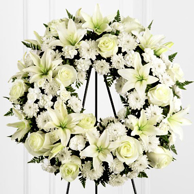 FTD� Treasured Tribute Funeral Wreath