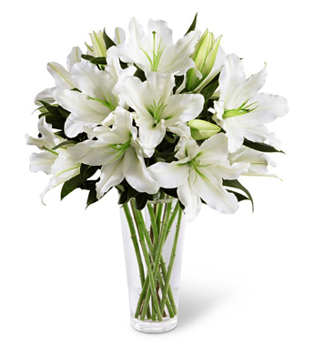 - FTD® Light In Your Honor Lilies Bouquet